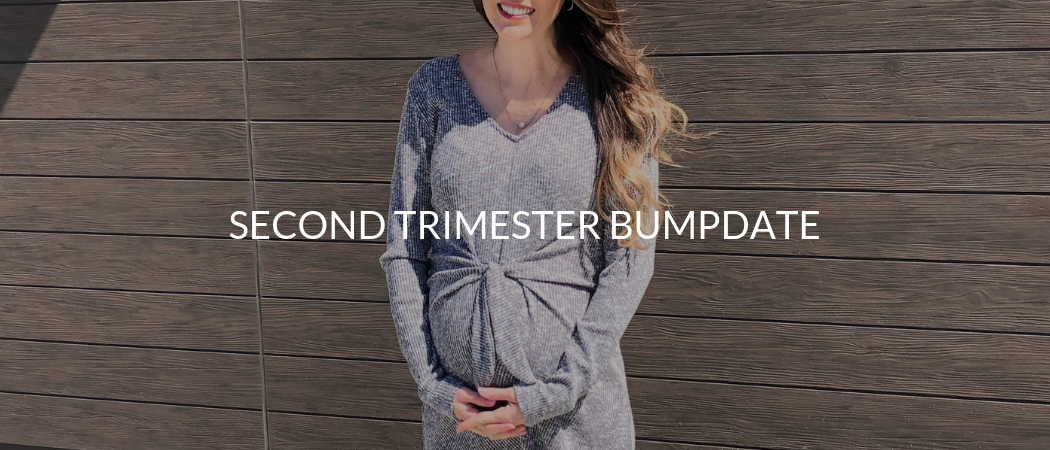 Second Trimester Bumpdate | Meekly Loving by Sydney Meek