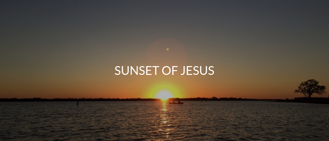 Sunset of Jesus | Meekly Loving by Sydney Meek