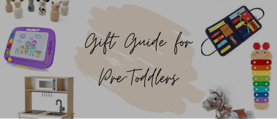 Gift Guide for Pre-Toddlers | Meekly Loving by Sydney Meek