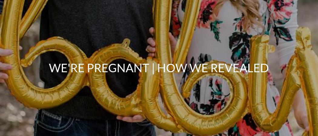 WE'RE PREGNANT! How We Revealed | Meekly Loving by Sydney Meek
