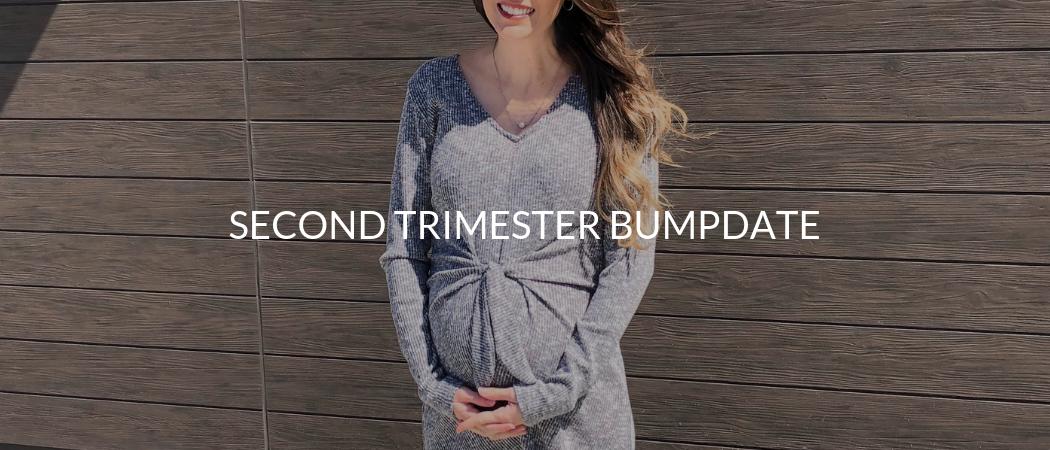 Second Trimester Bumpdate | Meekly Loving by Sydney Meek