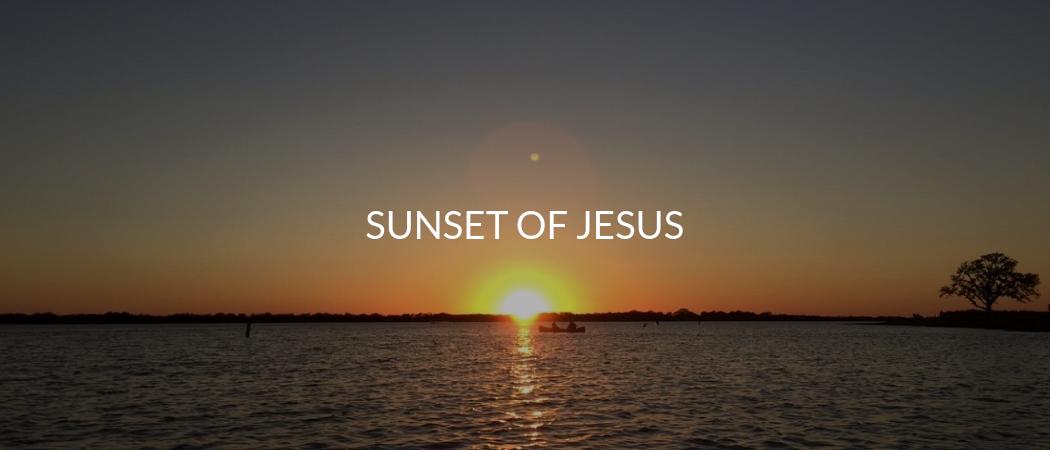 Sunset of Jesus | Meekly Loving by Sydney Meek