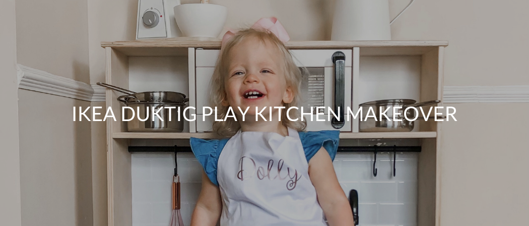 IKEA Duktig Play Kitchen Makeover | Meekly Loving by Sydney Meek